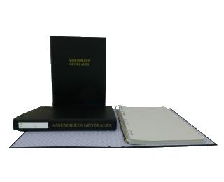 Les registres d'assemblées et registres des actionnaires